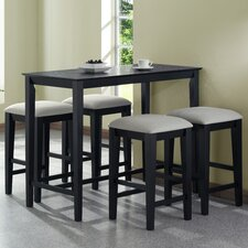 <strong>Monarch Specialties Inc.</strong> 5 Piece Counter Height Dining Set