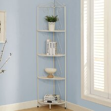Metal Corner Display Etagere