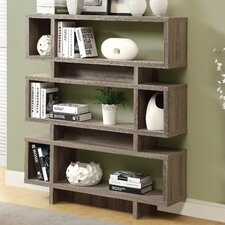 "Reclaimed-Look Modern 55"" Bookcase"