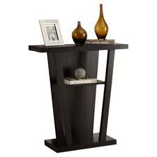 Hall Console Table in Black