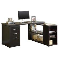 Hollow Core L-Shaped Computer Desk
