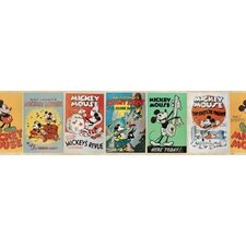 Mickey Vintage Wall Border