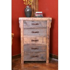 Black Mountain Five Drawer Chest