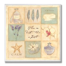 Home Décor When In Doubt Take a Bath 9 Path Bath Wall Plaque