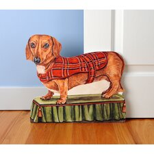 <strong>Stupell Industries</strong> Dachshund Wooden Decorative Dog Doorstop