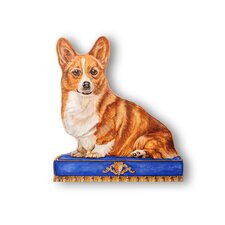 <strong>Stupell Industries</strong> Corgi Wooden Decorative Dog Doorstop