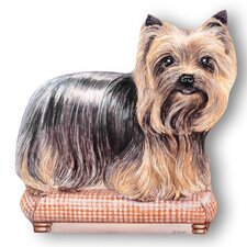 Yorkie Decorative Dog Door Stop