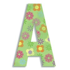 Oversized Flower Letter Hanging Initials