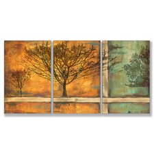 Home Décor Deep Roots Triptych Art