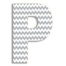 <strong>Stupell Industries</strong> Oversized Hanging Letter P