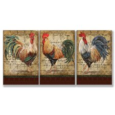 Home Décor Le Cop Trio 3 Piece Graphic Art Set