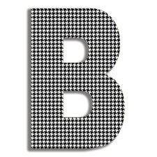 <strong>Stupell Industries</strong> Oversized Hanging Letter B