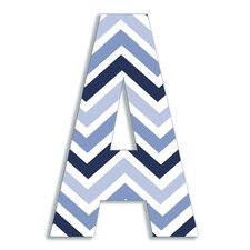 Oversized Chevron Letter Hanging Initials