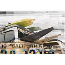 Cali Day Painting Print on Canvas