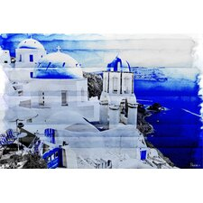 <strong>Parvez Taj</strong> Santorini Canvas Art