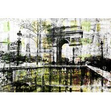 Champs Elysees by Parvez Taj Graphic Art on Canvas