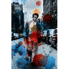 James Dean NYC by Parvez Taj Graphic Art on Canvas