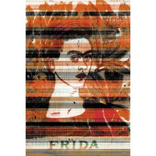 Frida Graphic Art on Canvas
