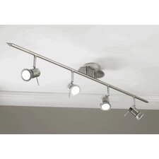 Genoa Linear Head 4 Light Ceiling Spotlight