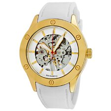 Women's Addison Watch in Gold / White