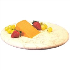 "Champagne Marble 12"" Lazy Susan"
