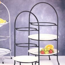 <strong>Creative Home</strong> Iron Works 3 Tier Dessert Plate Rack