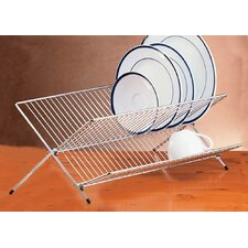 <strong>Creative Home</strong> Chrome Works Metalware Folding Dish Rack