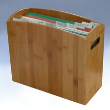 Bamboo Desktop File Box