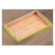 Bamboo Rectangular Serving Tray (Set of 6)
