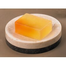 Champagne Marble Inverary Banded Soap Dish (Set of 8)