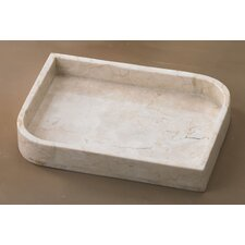 <strong>Creative Home</strong> Champagne Marble Contempt Tray