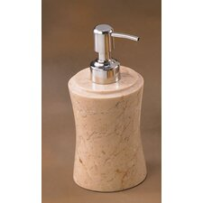 <strong>Creative Home</strong> Champagne Marble Fenway Liquid Soap Dispenser