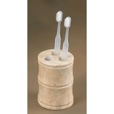 Champagne Marble Panda Tooth Brush Holder