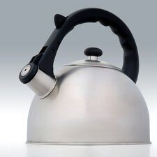 <strong>Creative Home</strong> Satin Splendor 2.8-qt. Whistle Tea Kettle