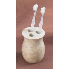 Vase Toothbrush Holder