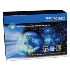 Compatible Toner Cartridge, 4000 Page Yield, Cyan