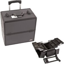 <strong>Sunrise Cases</strong> Professional Rolling Makeup Train Case