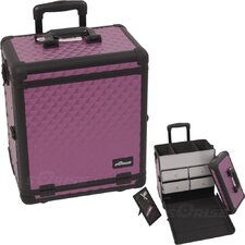 <strong>Sunrise Cases</strong> Professional Rolling Cosmetic Case
