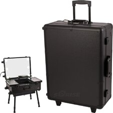 <strong>Sunrise Cases</strong> Professional Rolling Studio Makeup Case