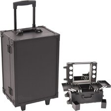 <strong>Sunrise Cases</strong> Professional Rolling Makeup Studio Case