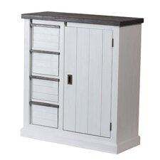 Kommode Loft mit 4 Schubladen und Tür