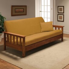 Stretch Jersey Full Futon Cover in Yellow