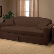 <strong>Madison Home</strong> Microsuede Two Piece Sofa Slipcover