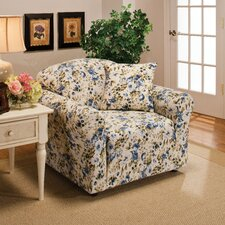 Stretch Jersey Club Chair Slipcover