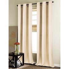 New London Grommet Curtain Panel (Set of 2)