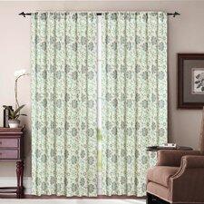 Pasadena Rod Pocket Curtain Panel (Set of 2)