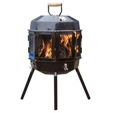 The Grizzly Cub Portable Fire Pit and Grill