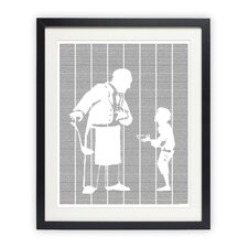 Oliver Twist Framed Graphic Art