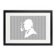 <strong>Postertext</strong> The Adventures of Sherlock Holmes Art Print
