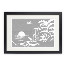 Robinson Crusoe Framed Graphic Art